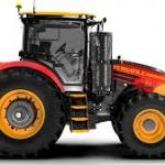 Tractor/agricultural equipment design